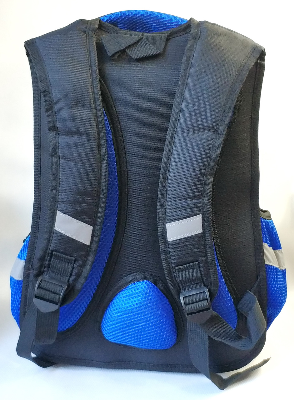 Школьный рюкзак для мальчика черный трансформеры
