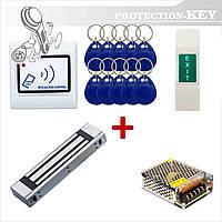 Комплект СКД №4 RFID-кнопка + электромагнитный замок