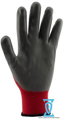 Перчатки рабочие нитрил серый (Intertool SP-0124), фото 2