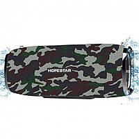 Портативная Bluetooth колонка HOPESTAR A6  - ХАКИ D104