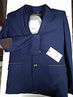 Дитячий костюм трійка синій для хлопчика
