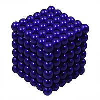 Головоломка Неокуб NeoCube 216 шариков по 5мм Синий