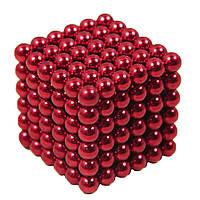 Головоломка Неокуб NeoCube 216 шариков по 5мм Красный