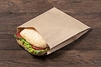 Пакет для булочек, пончиков, хачапури, выпечки 170мм*30мм*230 мм. цвет: бурый