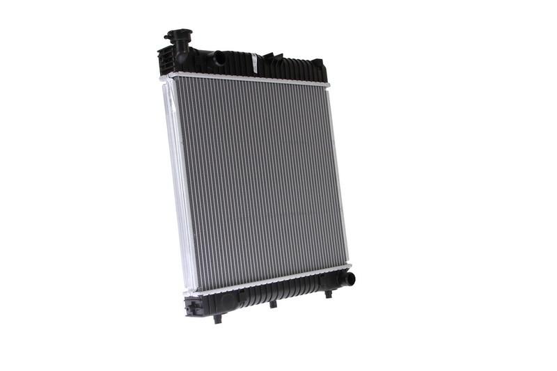 Радиатор охлаждения Mercedes-Benz T1 207-410D 1986-1996 (474*530*33mm) МКПП
