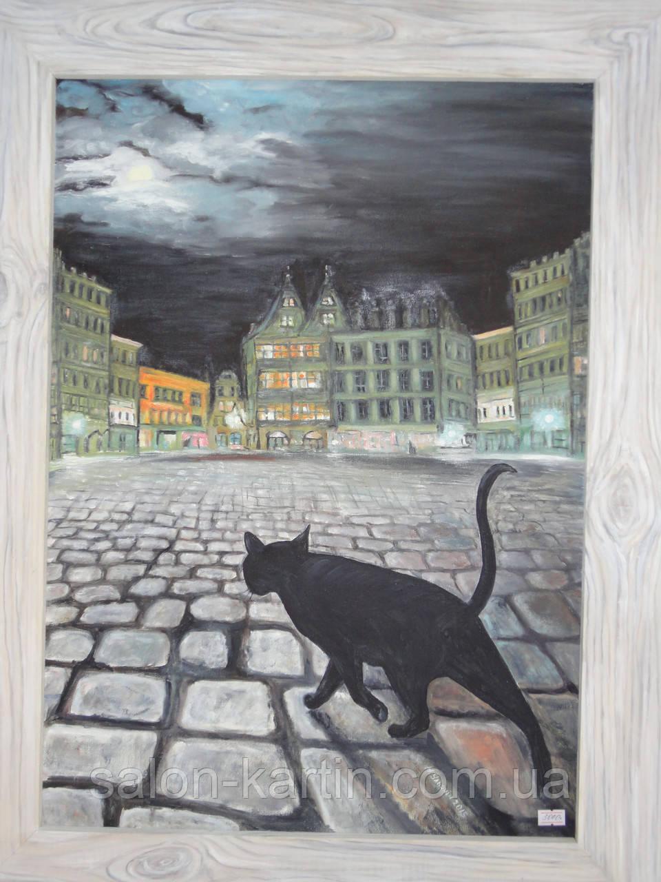 "Картина ""Кошка в Брюсселе"""