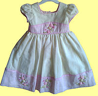 Белое нарядное детское платье для юной Принцессы, р. 2, 4