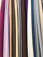 Шторы , портьеры велюровые однотонные софт  Цвет: разные цвета №8891
