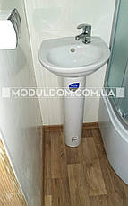 Вагончик для прораба (6 х 2.4 м.), офис, жилой модуль, санузел, душкабина, бойлер., фото 3