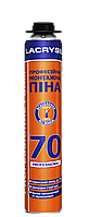 Пена монтажная Lacrysil 70 Профессиональная всесезонная 850 мл