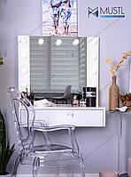Подвесной туалетный столик с гримерным зеркалом Floppy 80