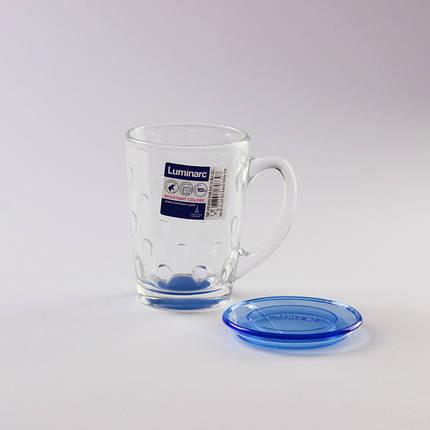 Кружка с крышкой LUMINARC NEW MORNING PEARS BLUE (P0288), фото 2