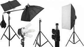 Набор студийного непрерывного освещения Tricolor light FX 1-5