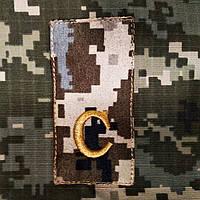 Пагон нагрудний слухача військової кафедри
