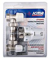ICMA KTE прямой термокомплект 1/2