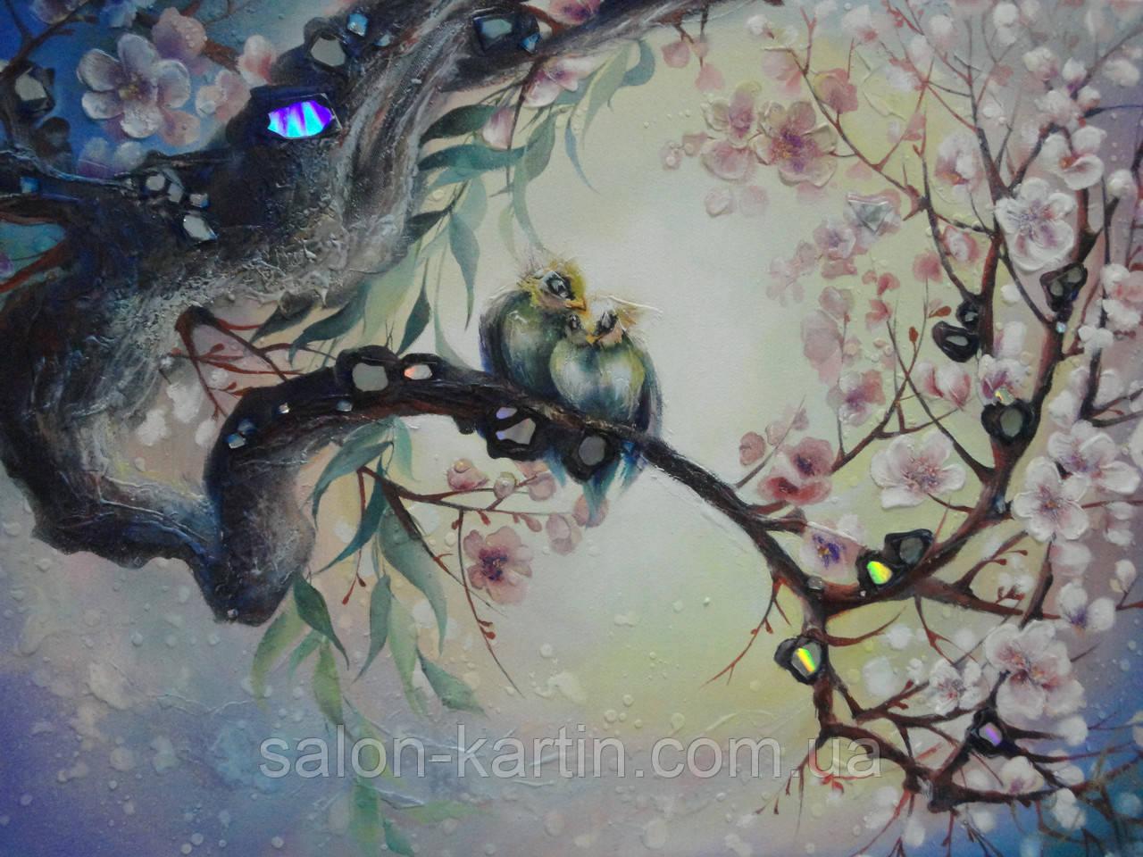 """Картина """"Райские птицы"""""""