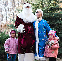 Дед Мороз и Снегурочка на дом, садик, школу. киев