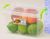 Контейнер для хранения продуктов с зажимами Premium - 2,0л глубокий