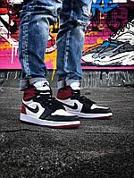 Стильные мужские кроссовкиJordan 1 Retro, фото 1