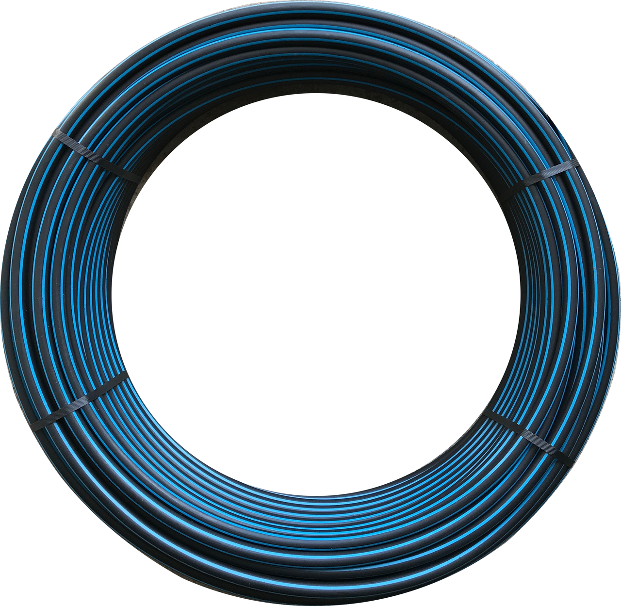 Труба поліетиленова технічна 25х1,9мм 6 атм бухта 100м