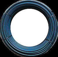 Труба полиэтиленовая техническая 25х1,9мм 6 атм бухта 100м