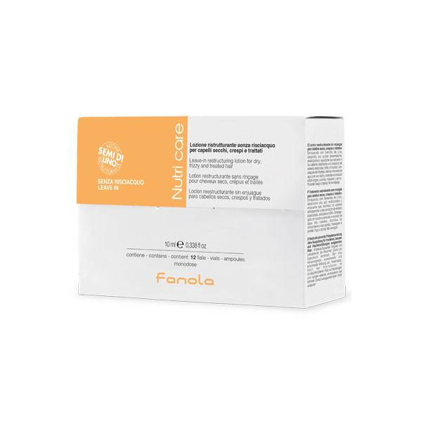 Ампулы для реструктуризации сухих волос Fanola Nutri Care  10 мл*12 шт