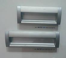 Ручка меблева врізна GIFF UA08/C00/08/96, 128 матовий хром