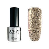 Гель-лак для ногтей ANVI Professional №104 Blinking Memories 9 мл