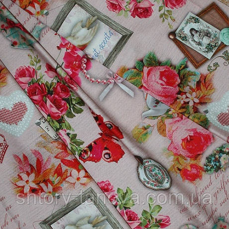 Декор свеет троянди розов.фон св. рожевий