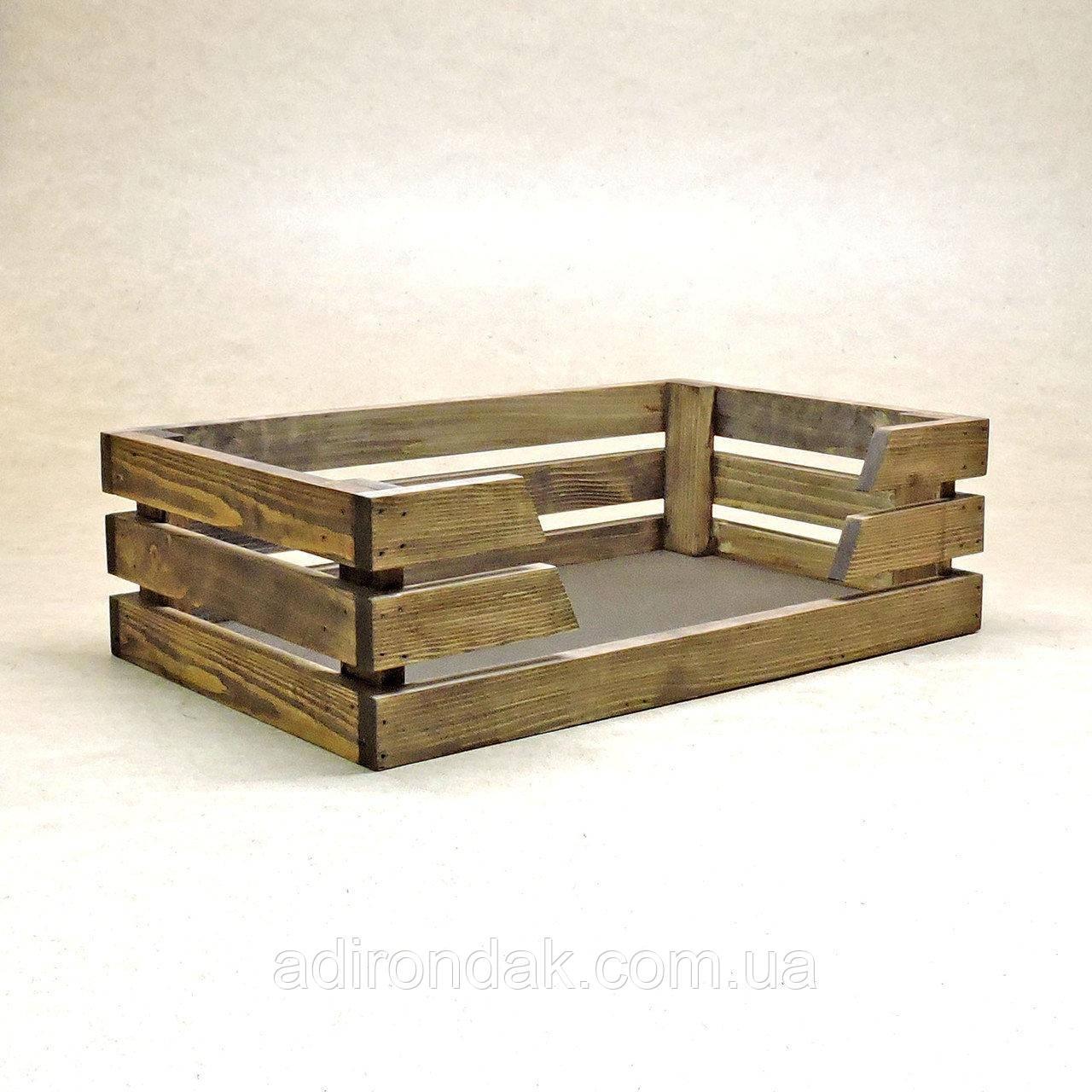 """Лежак деревянный для собаки """"Капучинно"""""""