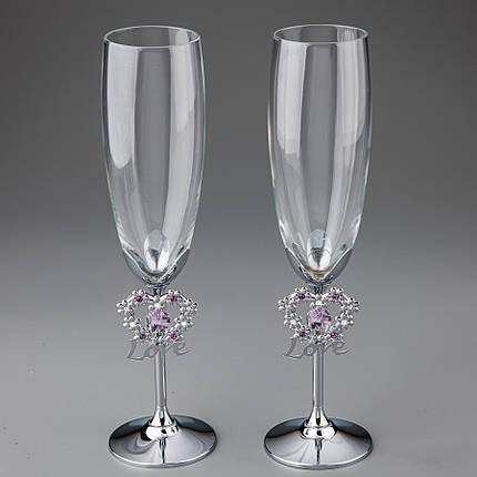 "Свадебные бокалы ""Crystocraft"" (0376-C11SL), фото 2"
