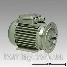 Мотор трехфазного тока 0,55kW 3000/3600RPM 230/400V