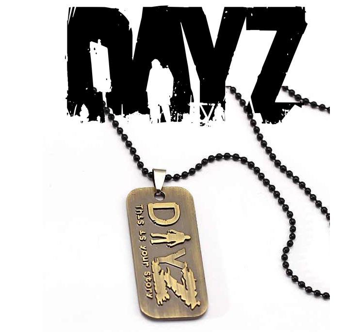 Кулон жетон DayZ