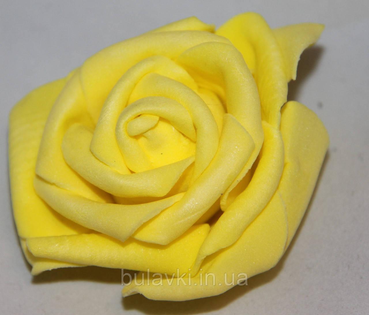 Роза(большая)желтая   2016-1-16-1