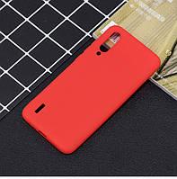 Чехол Soft Touch для Xiaomi Mi A3 силикон бампер красный