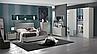 Комплект спальни модель Valentina Италия цвет капучино, фото 3