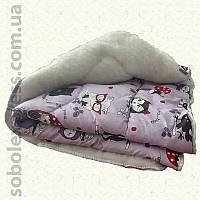 Одеяло шерстяное малое 02