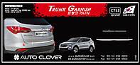 Хром накладка на крышку багажника Huyndai Santa Fe 2012- (Autoclover/C753), фото 1