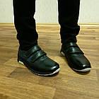 Школьные туфли на липучках, р. 32-35, фото 3