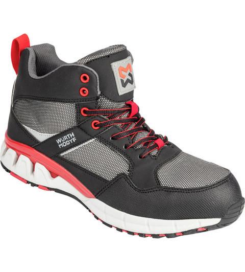 Кроссовки WM Active X черный красный высокий