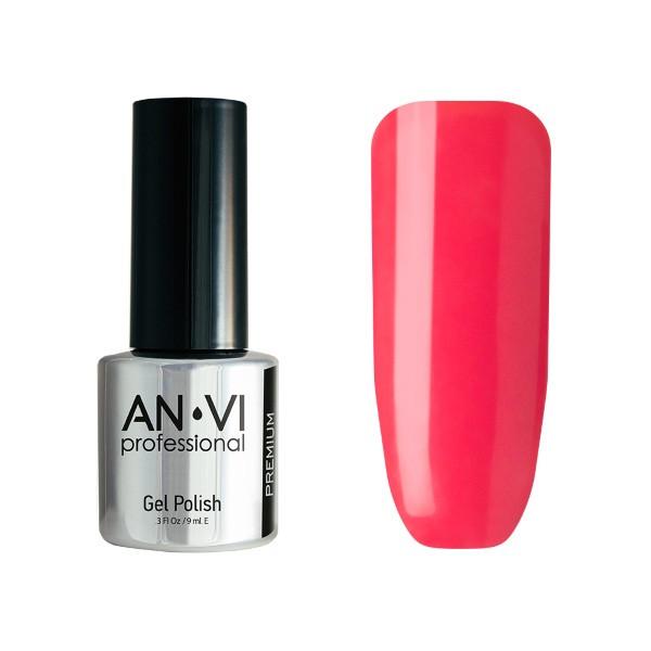 Гель-лак для ногтей ANVI Professional №110  Geranium Fade 9 мл