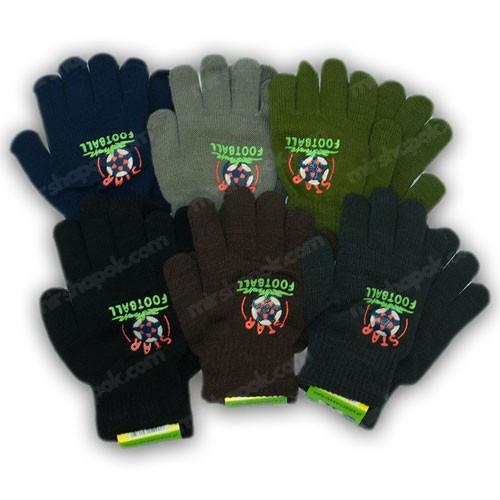 Перчатки для мальчиков, р. 16 (9-10 лет), производитель Польша