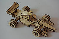 """БОЛІД"" еко-конструктор з дерева 3D пазл"