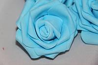 Роза  голубая 2017-1-18-1  (маленькая)