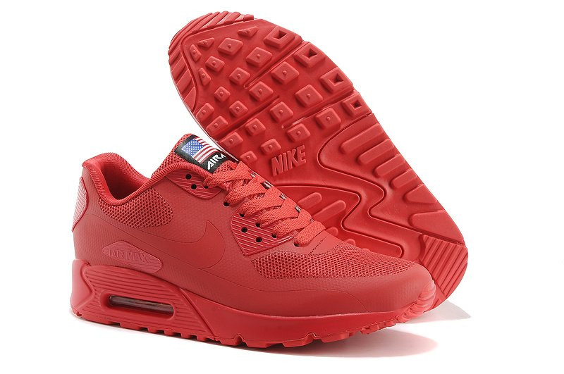 b317be90 Кроссовки Nike Air Max 90 Hyperfuse Red USA . кроссовки женские, кроссовки  nike, кроссовки