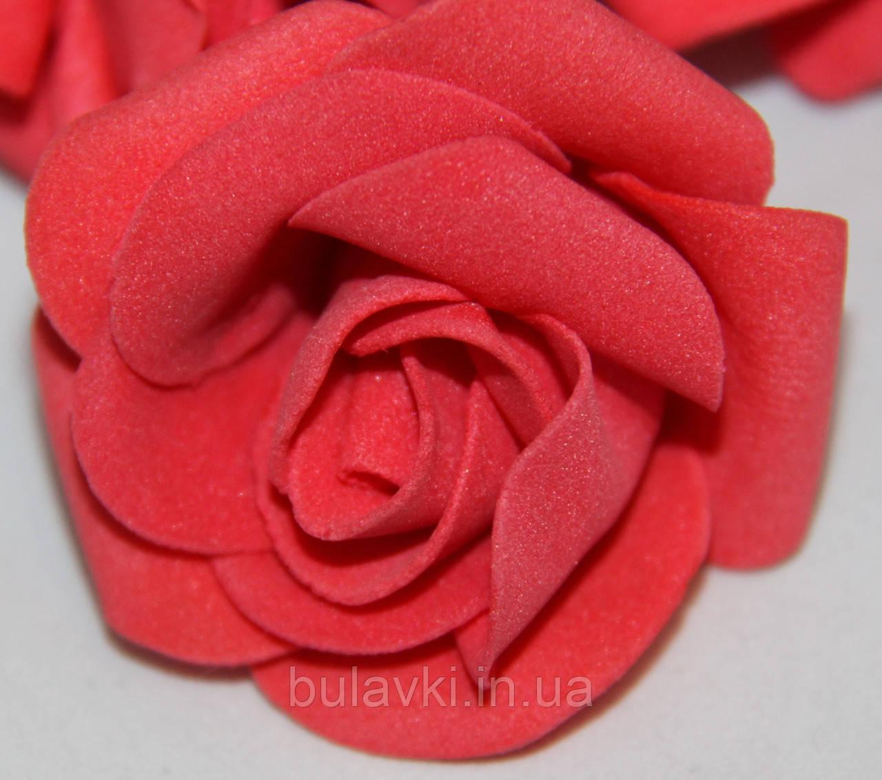 Роза красная 2017-1-18-1 (маленькая)