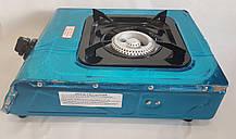 Газовая плита таганок Wimpex WX 1101 на 1 конфорку  с автоматическим поджогом, фото 3