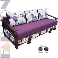 """Розкладний диван """"Ретро"""" (для щоденного сну, механізм єврокнижка, пружинний блок Боннель)"""