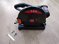 Пила монтажная отрезная по металлу LEX 8011B : 2900Вт   Гарантия 1 год - привод ремень