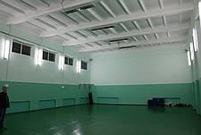 Отопление спортзалов, тренажерных залов, фото 3